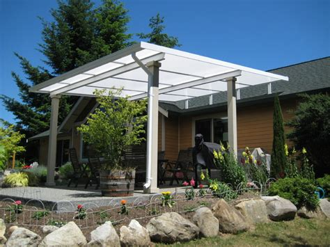 Patio Covers Seattle Patio Cover Shed Style Farmhouse Patio Seattle By