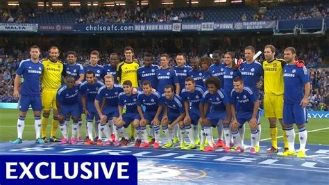 chelsea fc squad introducing your 2014 15 chelsea fc squad youtube