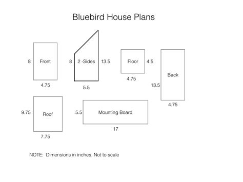 Make A Bluebird House Bluebird House Plans