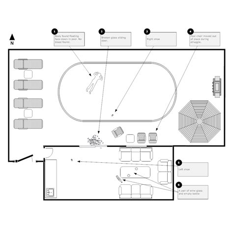 Crime Scene Layout Coloring Pages Crime Sketch Template