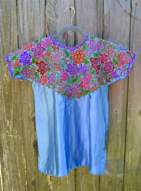 mexican blouse mexican embroidered top embroider blouse