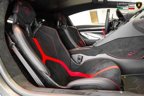 Lamborghini Aventador 4 Seater Bianco Lamborghini Aventador Lp750 4 Sv Passenger