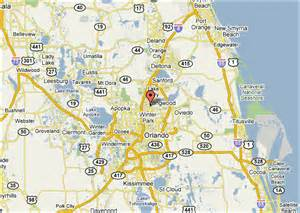 sanford orlando map and driving directions