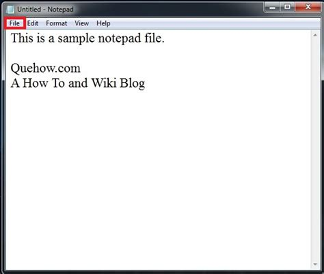 tutorial html notepad pdf how to convert notepad to pdf quehow