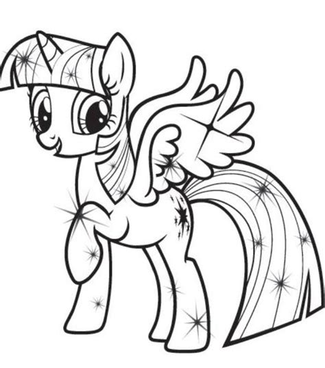 The Best My Little Pony Coloring Pages Princess Twilight My Pony Twilight Coloring Pages