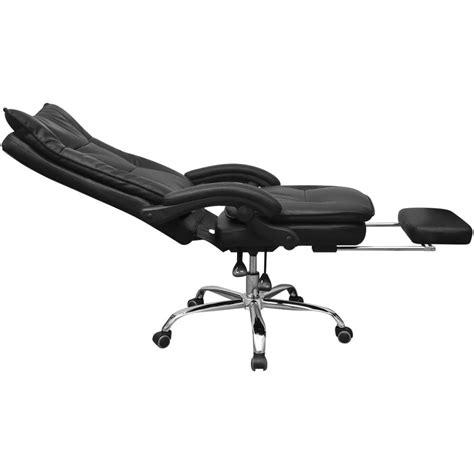sedia ufficio reclinabile articoli per vidaxl sedia reclinabile da ufficio esecutivo