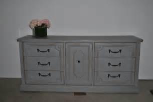 light grey large dresser buffet