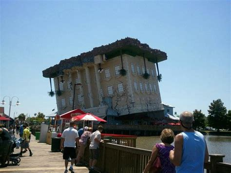 upside down house myrtle beach upside down house picture of broadway at the beach