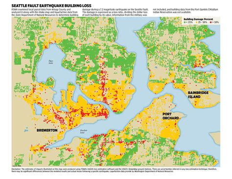 seattle liquefaction map our big one projects