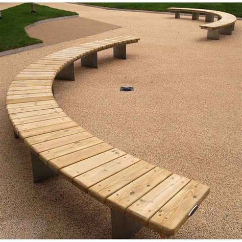 curved timber bench pwp1610 piper curved bench bespoke curved timber radius