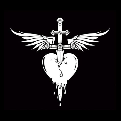 Bon Jovi Logo bon jovi dagger decal sticker