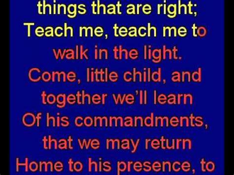 teach me to walk in the light sheet teach me to walk in the light chords chordify
