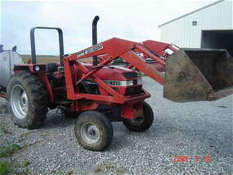 Used Farm Tractors For Sale Caseih 4210 Loader Tractor