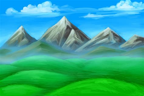 Drawing Mountains by Simple Mountain Drawings Mountains Drawing Building