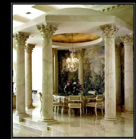 pillars in home decorating architectural columns wood columns composite fiberglass