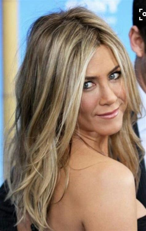 aniston hair color i never seen anniston look bad relaxed