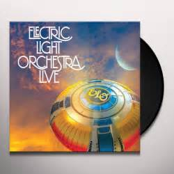 elo electric light orchestra elo electric light orchestra live vinyl record