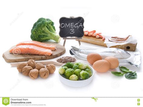 3 vegetables in omega 3 rich foods stock photo image 72118092