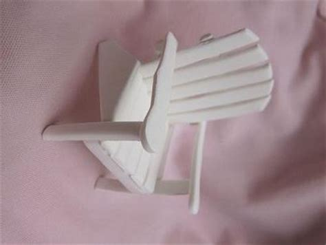 gumpaste adirondack chair template adirondack chair cutter for gumpaste cakes