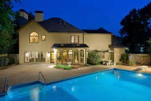 homes for with pool exteriors atlanta real estate photographer iran watson