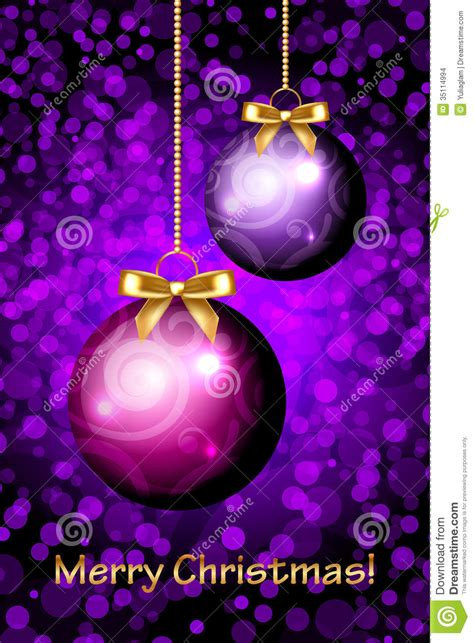 merry christmas purple background stock images image