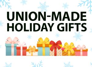 new york post newspaper best christmas presents union made in america gift ideas new york city central labor council