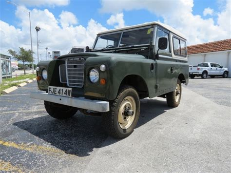 used land rover miami 1980 land rover iii stock tt1980ky305vn0572 for sale