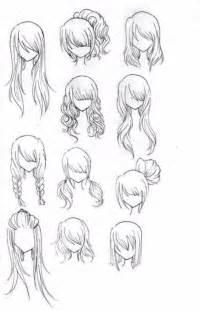 Anime Hairstyles Anime Hair By Glitzy On Deviantart
