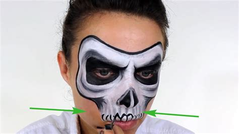 face paint  skull  steps  pictures wikihow