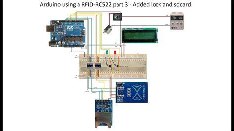 arduino   rfid rc part  added lock  sdcard