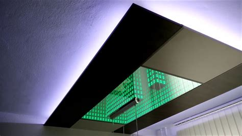 infinity mirror ceiling new fatare