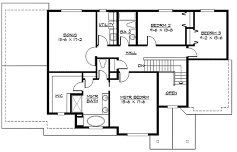 mission style in two versions 36346tx 2nd floor master suite butler walk in pantry cad craftsman home plan in many versions 23421jd 2nd floor