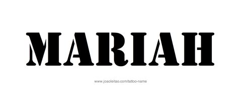 mariah tattoo design name 20 13 png