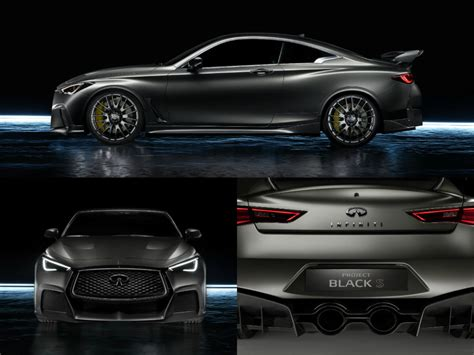 Project High Black infiniti project black s is a high performance prototype