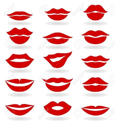 printable lip images kissing clipart lip outline pencil and in color kissing