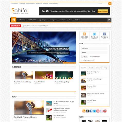 sahifa theme ads google adsense क ल ए ब स ट 5 template