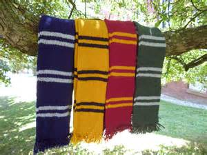 sale harry potter inspired house scarf hufflepuff