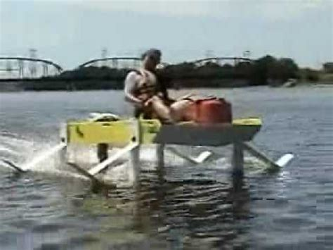 hydrofoil boat youtube dragonfly hydrofoil from pace boat youtube