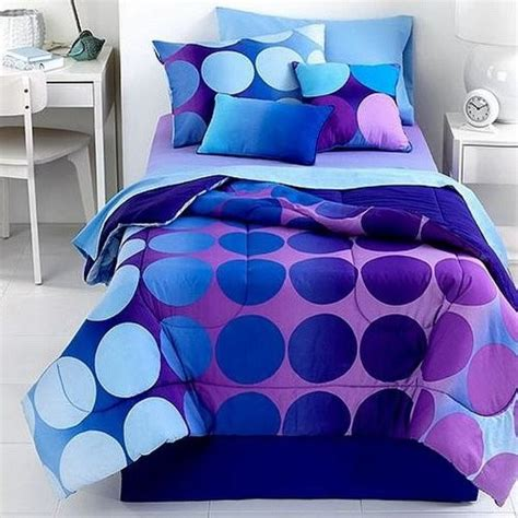purple and blue comforter set j franco studio 25 dot allure 3 piece twin comforter set