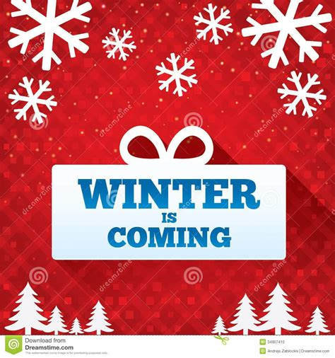 new year card sale winter is coming sale background sale stock
