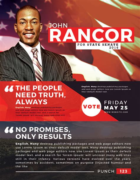 election flyers templates free best political flyer templates seraphimchris graphic design and illustration