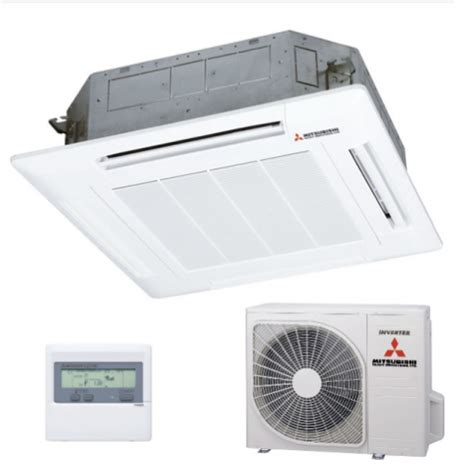 mitsubishi ceiling mount mitsubishi ceiling cassette air conditioner single phase
