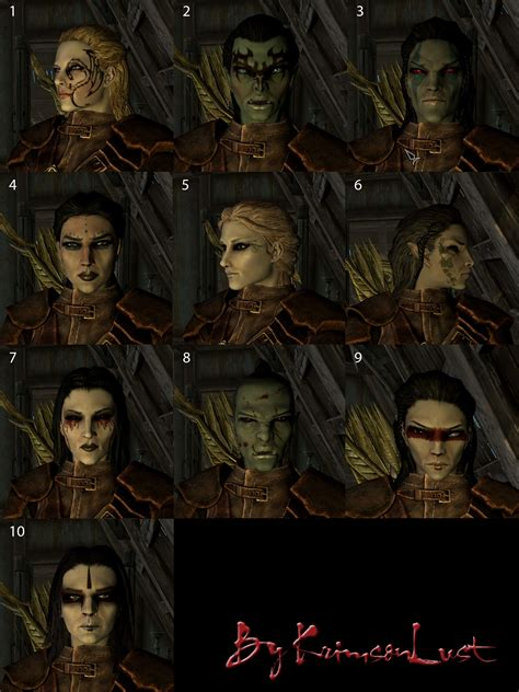 skyrim haircut hairstyles and faces skyrim mods curse