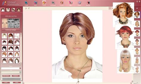 hairstyles and makeup online download virtual hairstudio salon edition 4 0