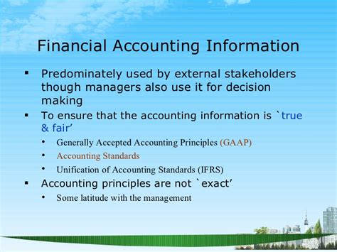 Accounting For Business Decisions Mba by Understanding Financial Statements Ppt Mba Finance