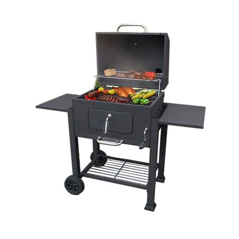 barbecue landmann shop landmann usa 23 in barrel charcoal grill at lowes