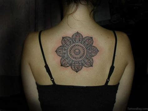 mandala flower tattoo 69 fashionable mandala on back