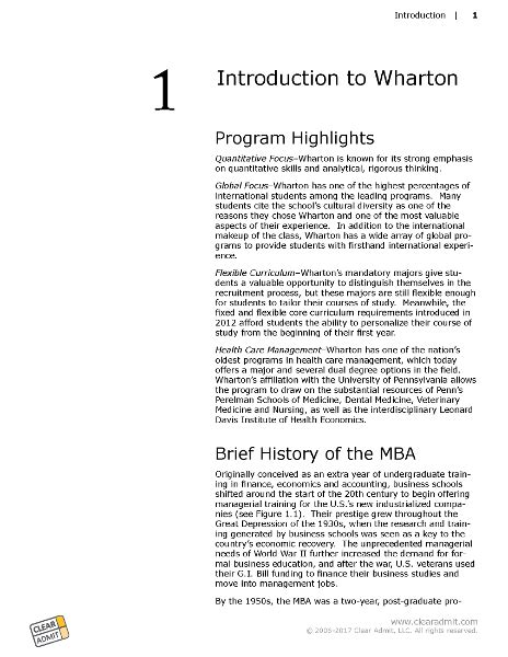 How Is It To Get Into Wharton Mba by School Guide The Wharton School