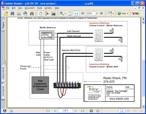 whole house speaker wiring diagram get free image about