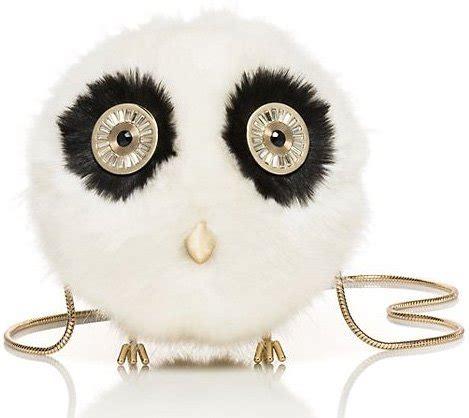 kate spade blaze a trail furry owl bag | bragmybag